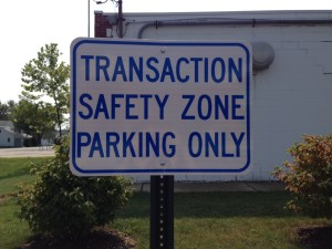 Transaction safety zone parking (3)